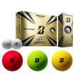 2021 ブリヂストン e12 Contact コンタクト 1ダース(12球入り) ゴルフボール (ホワイト / マットレッド / マットグリーン / マットイエロー) US仕様