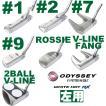 左用「Callaway 2016 メンズ」オデッセイ ホワイトホット RX パター (#1,#2,#7,#9,ROSSIE,V-LINE FANG,2BALL V-LINE) 日本仕様