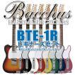 エレキギタービギナーズセット バッカスBTE-1R 各色