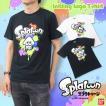 Splatoon(スプラトゥーン)スプラトゥーン イカ ロゴ Tシャツ