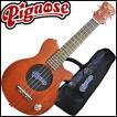 【送料無料】Pignose PGU-200MH エレキウクレレ コンサートサイズ 4点セット マホガニー材 アンプスピーカー内蔵 ピグノーズ