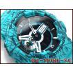 CASIO G-SHOCK カシオ Gショック ジーショック 限定モデル スラッシュ・パターン・シリーズ アナデジ 腕時計 ブルーグリーン GA-110SL-3A