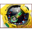 カシオ Gショック ジーショック ハイパーカラーズ CASIO G-SHOCK Hyper Colors 限定モデル 逆輸入海外モデル アナデジ 腕時計 ブラック イエロー GA-400-9A