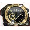 G-SHOCK Gショック GULFMASTER ガルフマスター 逆輸入海外モデル CASIO カシオ 限定 電波 ソーラー アナデジ 腕時計 ブラック ゴールド GWN-1000GB-1A