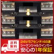 シーケンシャルウインカー 流れるウインカー LED テープライト 24V 57センチ 48連 2本入り 正面発光 シリコン トラック 保証1年 送料無料
