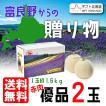 富良野からの贈り物 優品 2L 2玉 予約販売 7月中旬頃より順次出荷 着日指定不可 G-0406