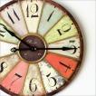 壁掛け時計 掛け時計 壁掛時計 ウォールクロック おしゃれ 大きい ビッグな掛時計 レインボー