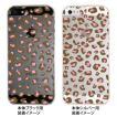 iPhone5s iPhone5 ケース カバー スマホケース クリアケース Clear Fashion ヒョウ柄 22-ip5-ca0036