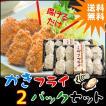 牡蠣フライ2パックセット 大粒20粒 冷凍食品 宮城県産 お惣菜 カキ