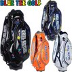 BLUE TEE GOLF ブルーティーゴルフ カリフォルニア  エナメル キャディバック 9型 BTG-CB001