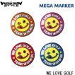【郵便発送選択で送料無料!!】  WINWIN STYLE  ウィンウィン MEGA マーカー WE LOVE GOLF  MM-208/210/211/212
