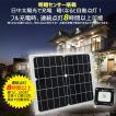 ソーラーライト極薄型  LED投光器 電池交換式 充電式 ソーラー投光器 長時間点灯 看板用スポットライト 防犯灯 実用新案登録 TYH-10P