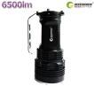 LED懐中電灯 充電式 CREE 6500Lm ハンディライト 登山 防災グッズ 夜釣り 旅行用品 キャンプ 地震 一年保証 TZ51