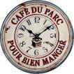 ウォールクロック CAFE DU PARC 壁掛け時計