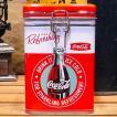 コカコーラ スクエアキャニスター缶 Refreshing アメリカン雑貨