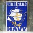 NAVY ミリタリー ステッカー 海軍 アメリカン ウォールステッカー アメリカン雑貨