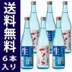 御殿桜 冷酒飲み比べセット(送料無料/6本入り)生酒・生貯蔵酒720ml