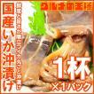特大国産真いかの沖漬け 1杯×1パック (いか イカ 烏賊)