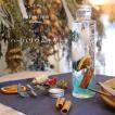 デザインハーバリウム手作りスターターキット 爽やか / ブルー 円柱瓶 オレンジ 花材 ハーバリウムオイル ボトル ハーバリウム キット クリスマス 母の日