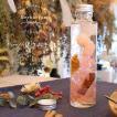 デザインハーバリウム手作りスターターキット キュート ピンク 円柱瓶 オレンジ 花材 ハーバリウムオイル ボトル ハーバリウム キット クリスマス 母の日