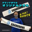ボウリング/グランドボウルオリジナル/マフラータオル/白/ホワイト