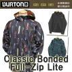 バートン BURTON パーカー クラシックボンデッドフルジップ ライト Classic Bonded Full-Zip Lite 裏起毛 スノーボード スケートボード
