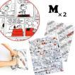 [送料299円〜]「tc4」日本製 SNOOPY スヌーピー PEANUTS 衣類圧縮袋 コミック柄 Mサイズ 2枚セット 2点迄メール便OK(va1a263)