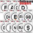 [送料299円〜]「tc150」「pa」Suitcases Sticker(スーツケースステッカー) 国際識別記号ステッカー ヨーロッパ IDP 100点迄メール便OK(ze0a009)