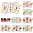 [送料299円〜]「tc150」「pa」Suitcases Sticker(スーツケースステッカー) 国旗ステッカー SK 100点迄メール便OK(ze0a020)