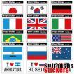 [送料299円〜]「tc150」「pa」Suitcases Sticker(スーツケースステッカー) アイラブ・国旗ステッカー 2枚セット FIL 100点迄メール便OK(ze0a021)
