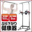 GronG ぶら下がり 健康器 筋トレ 懸垂マシン 自宅 器具 懸垂マシーン トレーニング 耐荷重100kg タイプA