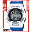 GショックカシオGWX-8903K-7JRソーラー電波腕時計「イルカクジラモデル」メンズ青色白色(青色〈ブルー〉・白色〈ホワイト〉)
