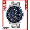 カシオ正規国産品OCW-T2600G-1AJF「オシアナス ブラックマーブル」電波ソーラー腕時計メンズ(銀色〈シルバー〉)