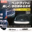 日野グランドプロフィア用 LEDヘッドライトガーニッシュ R/Lセット【CE-398】