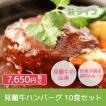レトルト 萩産「見蘭牛」100% 見蘭牛ハンバーグ10P