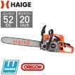 チェーンソー HG-K5200 【正規品】[送料無料]チェンソー 20インチ 52cc ハイガー/HAIGE