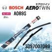 BOSCH 輸入車用エアロツインワイパーブレード 2本入 650/500mm A089S 3397007089
