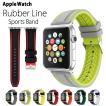 アップルウォッチ バンド ラバー ベルト スポーツ apple watch series4 40mm 44mm series3 38mm 42mm Series Series1 Series2 送料無料