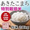 令和2年産米 秋田県産 あきたこまち 特別栽培 白米 20kg 農薬8割減 化学肥料9割減 慣行栽培比 農家直送