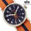 腕時計 メンズ NATOベルト 腕時計 ALPHA INDUSTRIES AL-503M-03