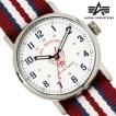 腕時計 メンズ NATOベルト 腕時計 ALPHA INDUSTRIES AL-503M-04