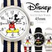 【disney_y】腕時計 ディズニー Disney ミッキーマウス 薄型 NATOベルト ユニセックス
