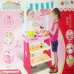 ケーキ屋さん 25点セット 店屋さんごっこ 知育玩具 レジ付き キッチンテーブルセット おままごと なりきりシリーズ 889-13