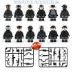 レゴ レゴブロック LEGO レゴ ミニフイグ SWAT12体 武器とボートセット 互換品 クリスマス プレゼント