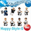 レゴ レゴブロック LEGO レゴミニフィグ サッカー選手8体 ドイツ ボール付き 互換品 クリスマス プレゼント