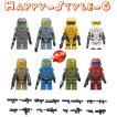 レゴ レゴブロック LEGO レゴミニフイグ HALO  新発売 8体セット 互換品 クリスマス プレゼント