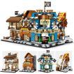 ブロック互換 レゴ 互換品 レゴミニモジュール式パイレーツBAR 他4個Aセット レゴブロック LEGO クリスマス プレゼント