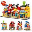 ブロック互換 レゴ 互換品 レゴミニモジュール式ディスショップ 他4個セット レゴブロック LEGO クリスマス プレゼント