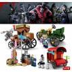 レゴ レゴブロック LEGO レゴ ldentity V 車4個セット 互換品 クリスマス プレゼント