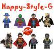 レゴ レゴブロック LEGO レゴミニフィグ バットマン8体Dセット 互換品 クリスマス プレゼント